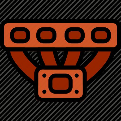 car, manifold, part, turbo, vehicle icon