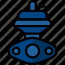 car, external, part, vehicle, wastegate