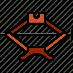 car, jack, part, vehicle icon