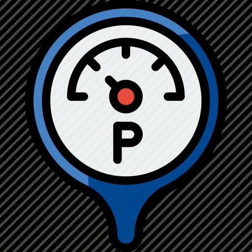 car, part, pressure, vehicle icon