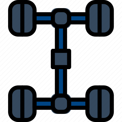 car, chassis, part, vehicle icon