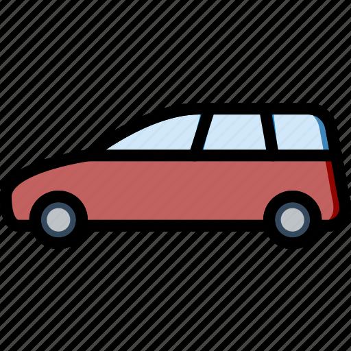 car, minivan, part, vehicle icon
