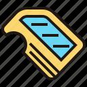 car, door, part, spare, vehicle icon