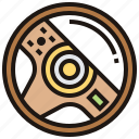 control, part, steering, vehicle, wheel icon