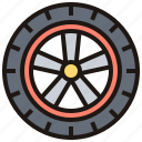 car, part, spare, vehicle, wheel icon