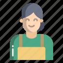 technician, woman