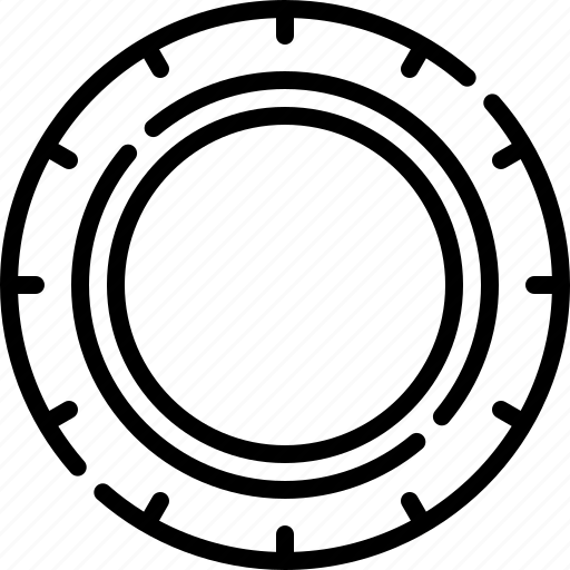 Tyre, tire, wheel, rubber, car icon - Download on Iconfinder