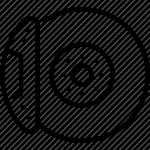 Brake, disc, part, auto, car icon - Download on Iconfinder