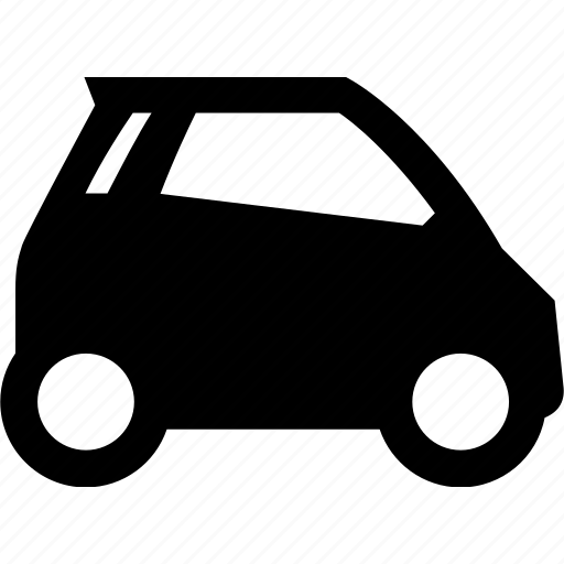 auto, automobile, car, compact, electric, modern, smart car icon