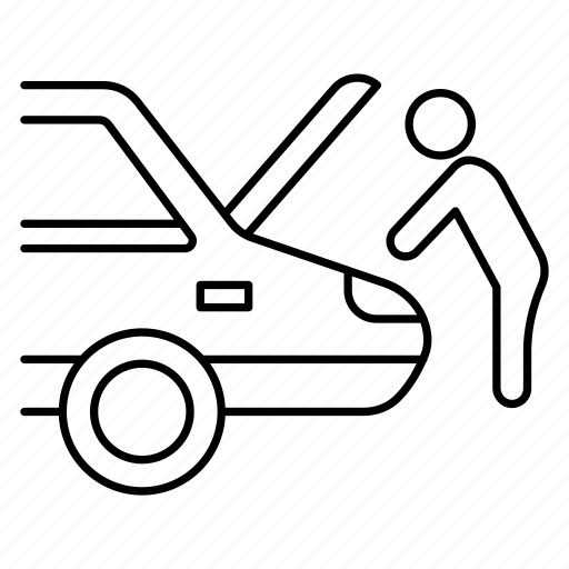 Car, hood, maintenance, repair icon - Download on Iconfinder