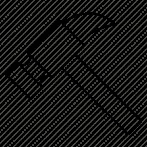 fix, hammer, repair icon