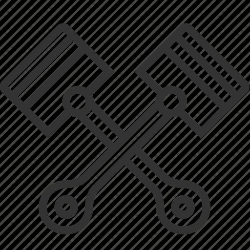 Engine, piston, plunger icon - Download on Iconfinder