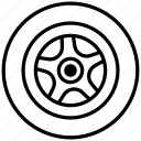 tire, parts, service, car, wheel icon