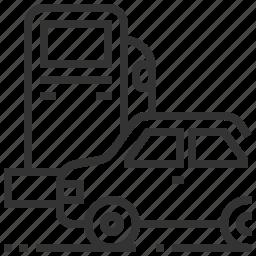 car, refuel, transport, transportation icon