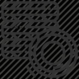 automobile, car, service, tire icon