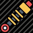 damper, machine, equipment, mechanic, automobile