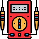 automotive, car, garage, light, measured, repairing, vehicle icon