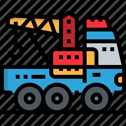 automotive, car, maintenance, mobile, motor, service, trailer icon