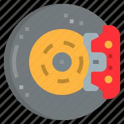 automobile, brake, car, garage, pads, parts, repairing icon