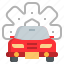 automobile, car, check, garage, motor, repairing, service icon