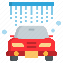 car, cleaning, service, wash, washer icon