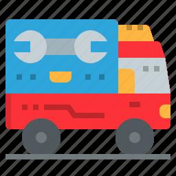 automotive, car, maintenance, mobile, motor, service icon