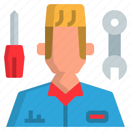 avatar, man, mechanics, people, uniform icon