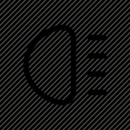 Automobile, car, garage, parts, service, headlight, vehicle icon - Download on Iconfinder