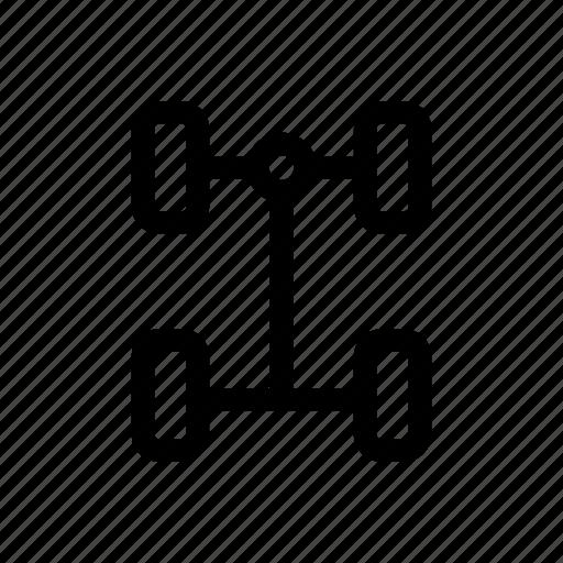 Automobile, car, garage, parts, service, suspensions, vehicle icon - Download on Iconfinder