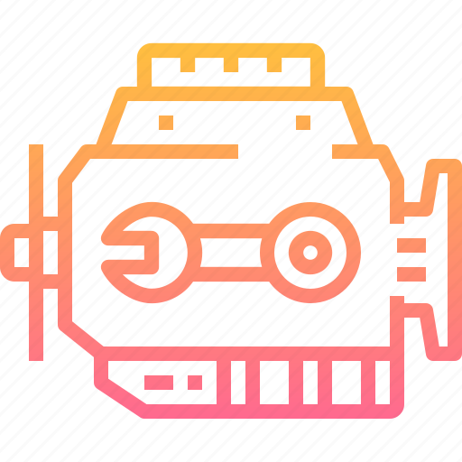 Automobile, car, engine, motor, repairing icon - Download on Iconfinder