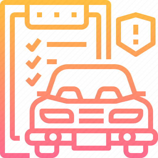 automobile, automotive, car, insurance, motor, service icon