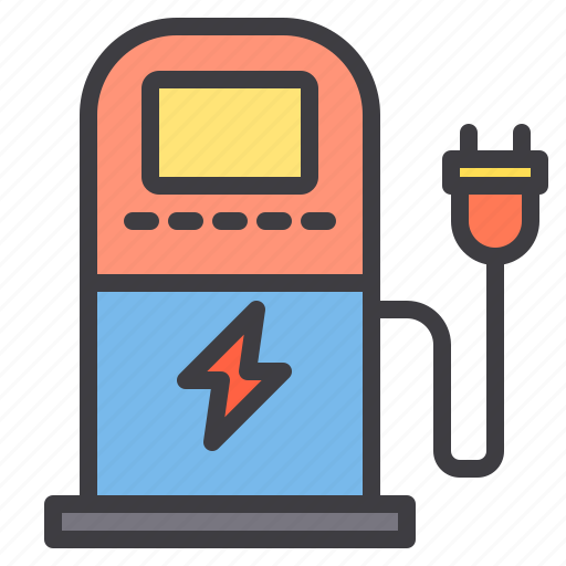car, charging, maintenance, service icon