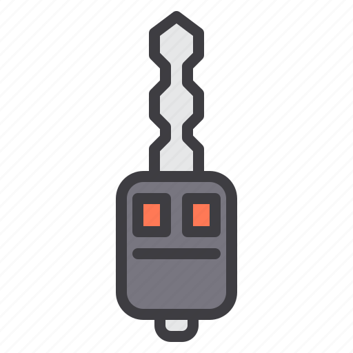 car, key, maintenance, service icon