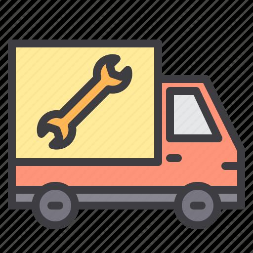 car, maintenance, mobile, service icon