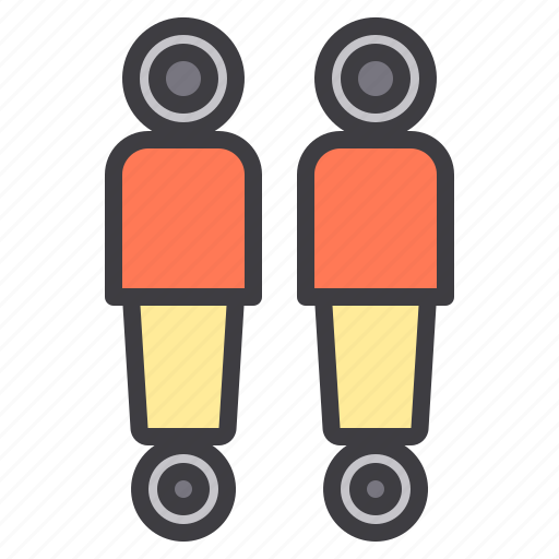 absorber, car, maintenance, service, shock icon