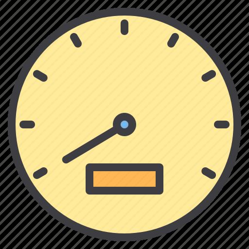 car, maintenance, meter, service, speed icon