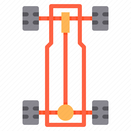 car, chassis, maintenance, service icon