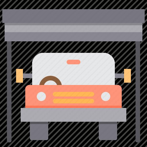 car, garage, maintenance, service icon