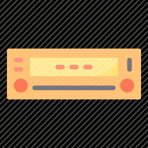 car, maintenance, radio, service icon
