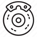 break, car, maintenance, service icon