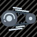 chain, garage, motor, repair icon