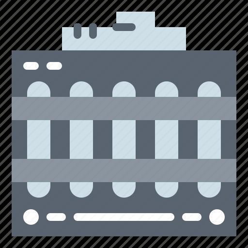 automobile, engine, motor, radiator icon
