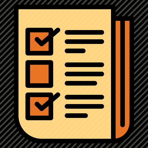check, checking, list, tasks icon