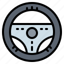 car, driving, steering, transportation, wheel