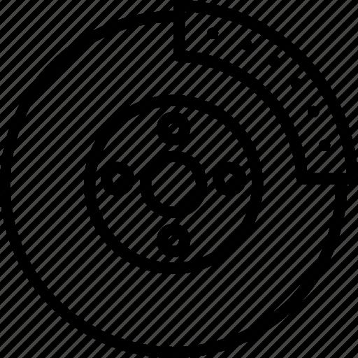 automobile, break, car, disk, garage, part, service icon