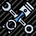 car, engine, repair, service, transportation icon