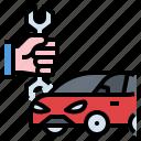 car, maintenance, service icon