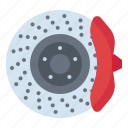 brake, car, disc, repair, service icon