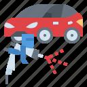 car, service, paint, repair, painting, garage