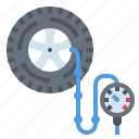 car, service, tire, tires icon